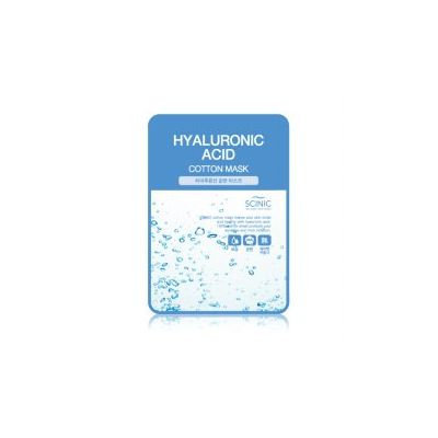 Scinic - Cotton Mask (Hyaluronic Acid) 5 pcs x 25ml