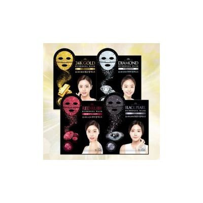 Scinic Black Pearl Hydrogel Mask 1pc 1pc (28g)