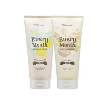 Etude House - Every Month Cleansing Cream (Soft & Moist) 180 ml/6.9 oz