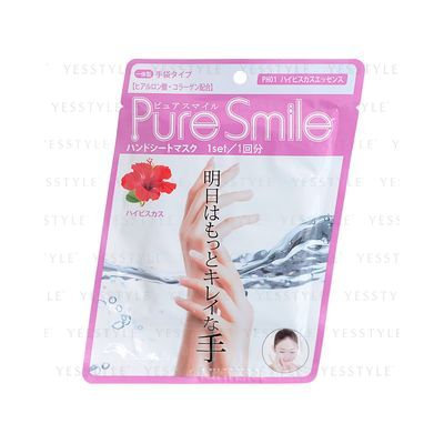 Sun Smile - Pure Smile Pack Sheet Pack (Hand Sheet Pack) (Hibiscus) 5 pcs