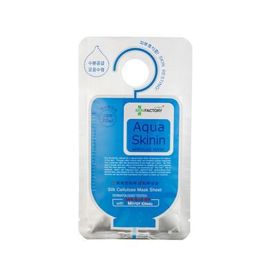 SKIN FACTORY - Aqua Skinin Ampoule Mask 10pcs 30ml x 10pcs