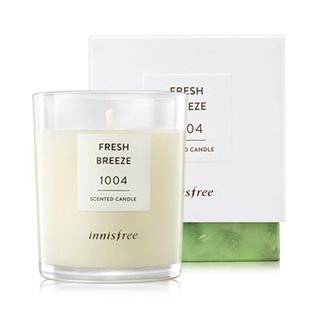 Innisfree Scented Candle (#1004 Fresh Breeze) 100g 100g