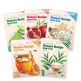 Secret Key Nature Recipe Mask Pack 1pc Pearl