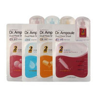 Etude House - Dr. Ampoule Dual Mask Sheet (Brightening Care) 4 pcs