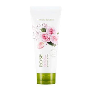Nature Republic Real Nature Foam Cleanser - Rose 150ml 150ml