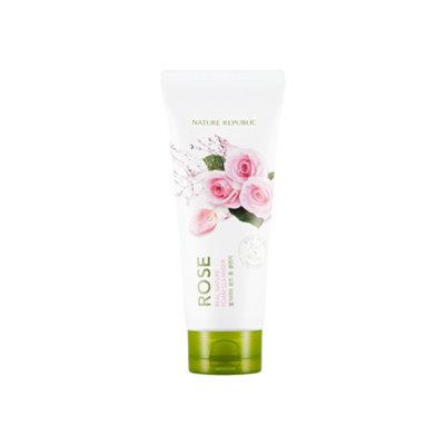 Nature Republic Real Nature Foam Cleanser - Rose 150ml 150ml
