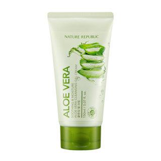 Nature Republic Soothing & Moisture Aloe Vera Cleansing Gel Cream 150ml 150ml