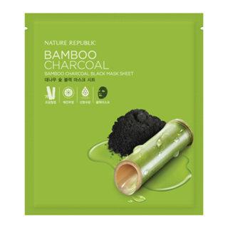 Nature Republic Bamboo Charcoal Black Mask Sheet (1pc) 27ml