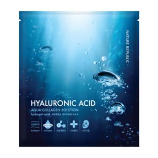 Nature Republic Aqua Collagen Solution Hyaluronic Acid Hydrogel Mask