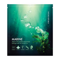 Nature Republic Aqua Collagen Solution Marine Hydrogel Mask (1pc) 25g