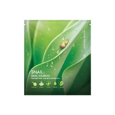 Nature Republic Snail Solution Hydrogel Mask 1pc