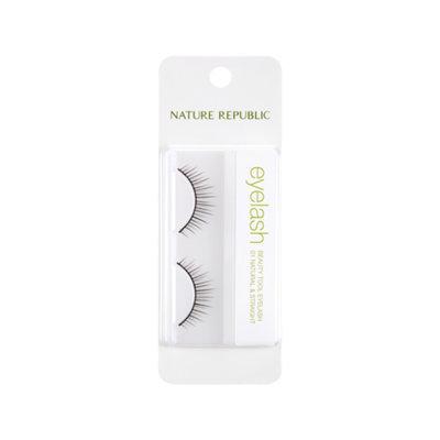 Nature Republic Beauty Tool Eyelashes (#01 Natural & Straight) 1 pair