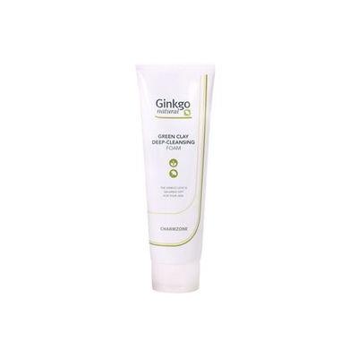 Charm Zone Ginkgo Natural Green Clay Deep Cleansing Foam 180ml 180ml