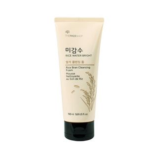 The Face Shop Rice Water Bright Rice Bran Cleansing Foam 150ml 150ml