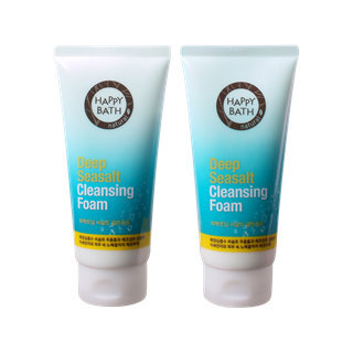 Happy Bath Perpect Deep Sea Salt Cleansing Foam 175g x 2pcs 175g x 2pcs