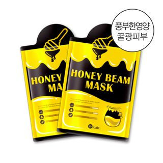 W.lab Honey Beam Mask 1pc 23g x 1pc
