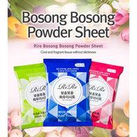 Ri Re Bosong Bosong Powder Sheet 120sheets Fresh Soap