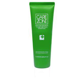 Carezone Doctor Solution P-Cure Pore Clean Scrub Foam 130ml 130ml