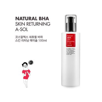 Cosrx Natural BHA Skin Returning A-Sol 100ml 100ml