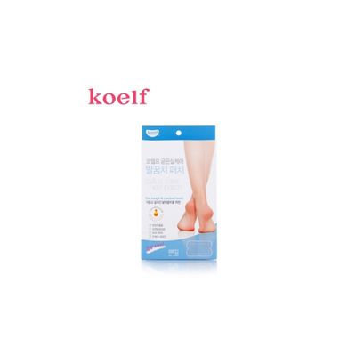 Petitfee koelf Calluse Care Heel Patch 6pcs 6pcs (3pairs)