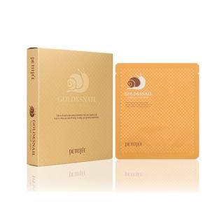 Petitfee Gold & Snail Hydrogel Mask Pack 5pcs 30g x 5pcs