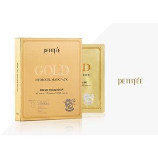 Petitfee Gold Hydrogel Mask Pack 5pcs 30g x 5pcs