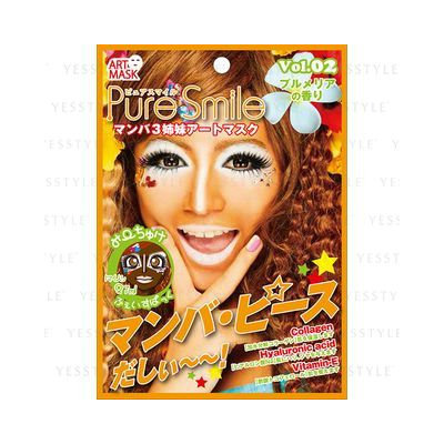 Sun Smile - Pure Smile Manba Sisters Art Mask (Michuke) 1 pc