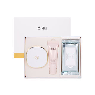 O HUI - Perfect Sun Water Span Special Set: Perfect Sun Water Span SPF 50+ PA+++ 15g + Miracle Moisture Cleansing Foam 40ml + Clear Science Tender Cleansing Sheet 5sheets 3pcs