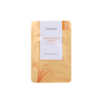 Mamonde - Honeysuckle Lifting Flower Essence Mask 1pc 1pc