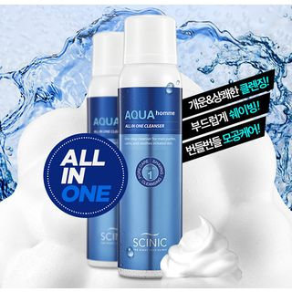 SCINIC - Aqua Homme All In One Cleanser 100ml 100ml