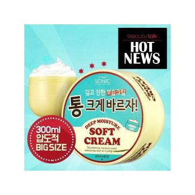 SCINIC - Deep Moisture Soft Cream (Jumbo Size) 300ml 300ml