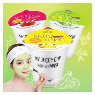 SCINIC - My Juicy Cup Modeling Mask 25g Healthy Juice (Yellow Cup / Nourishing)