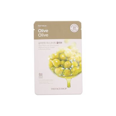 The Face Shop - Real Nature Mask Sheet (Olive) 1pc 1pc