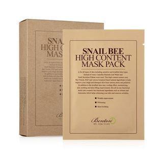 Benton - Snail Bee High Content Mask Pack 10pcs 10pcs
