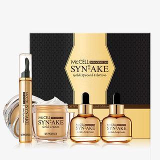 Dr.phamor DR. PHAMOR - McCELL SKIN SCIENCE 365 Syn-Ake Gold Special Edition: Cream 50ml + Eye Serum 15ml + Ampoule 30ml x 2 4pcs
