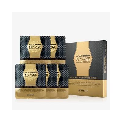 Dr.phamor DR. PHAMOR - McCELL SKIN SCIENCE 365 Syn-Ake Hydro-Gel Gold Mask 5pcs 28g x 5pcs