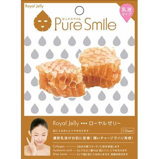 Sun Smile - Pure Smile Essence Mask Series For Milky Lotion (Royal Jelly) 1 pc