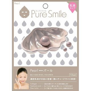 Sun Smile - Pure Smile Essence Mask Series For Milky Lotion (Pearl) 1 pc