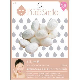 Sun Smile - Pure Smile Essence Mask Series For Milky Lotion (Silk) 1 pc