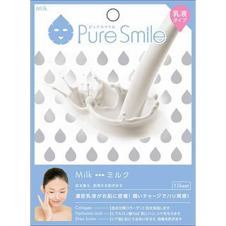 Sun Smile - Pure Smile Essence Mask Series For Milky Lotion (Milk) 1 pc