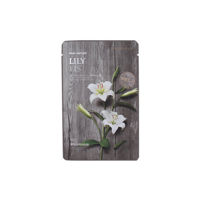 The Face Shop - Real Nature Lily Mask Sheet 1pc 20g