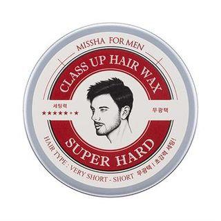 Missha - For Men Class Up Hair Wax (Super Hard) 90g
