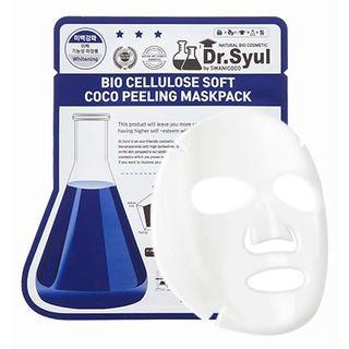 SWANICOCO - Bio Cellulose Soft Coco Peeling Mask Pack 1pc