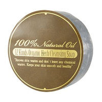 SWANICOCO - 12 Kinds Organic Herb Cleansing Soap 100g