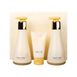 Su:m37 su: m37 - Sweet Smile Special Set: All-in-one Mild Wash 245ml + Moisturizing Lotion 250ml + Nourishing Cream 60ml 3pcs