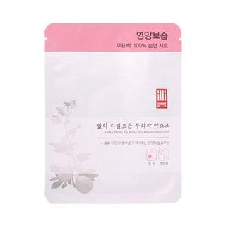illi - Real Cotton Fig Mask 1 sheet
