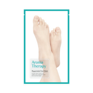 ROYAL SKIN - Aromatherapy Peppermint Foot Mask 15g x 1 pair