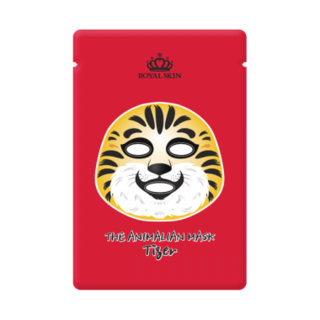 Enc Cosmetic Inc. Royal Skin Animalian Tiger Facial Mask (Pack of 10)