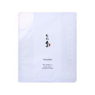 Sooryehan - White Ginseng Whitening Gel Mask 1pc 1pc