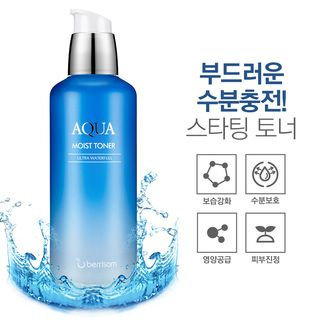 Berrisom - Aqua Moist Toner 130ml 130ml